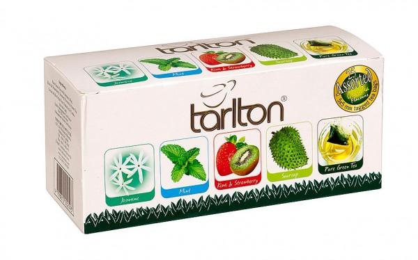Tarlton Tea Variation von grünen Teesorten, 25 Stück