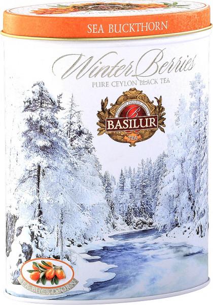 Basilur Tea Winterbeeren Sanddorn Dose