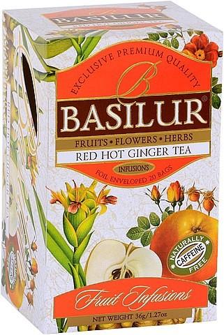 Basilur Tea Red Hot Ginger Tea (20 Beutel)