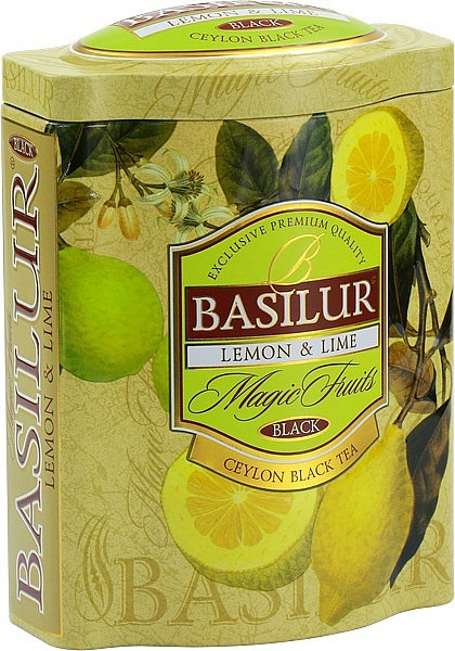 Basilur Tea Magic Fruits Lemon & Lime (Blechdose)