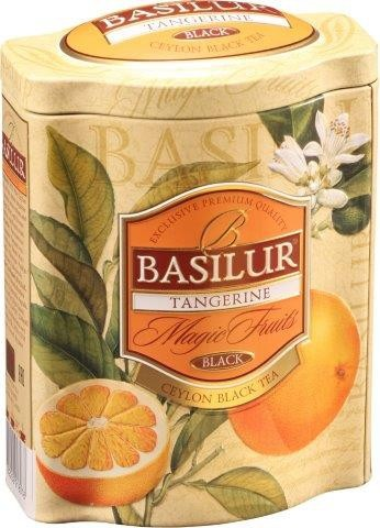 Basilur Tea Magic Fruits – Tangerine (Blechdose)