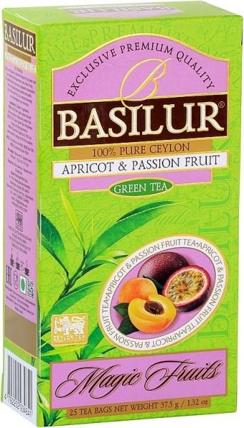 Basilur Tea Magic Fruits Apricot & Passion Fruit (25 Beutel)