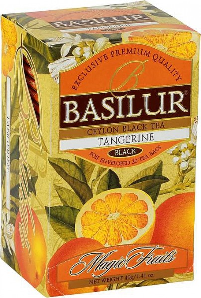 Basilur Tea Magic Fruits – Tangerine (20 Beutel)