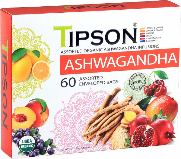 Tipson Tea Bio Ashwagandha