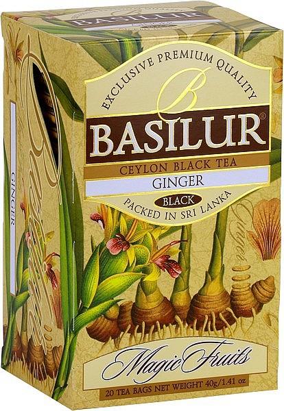 Basilur Tea Magic Fruits – Ginger (20 Beutel)