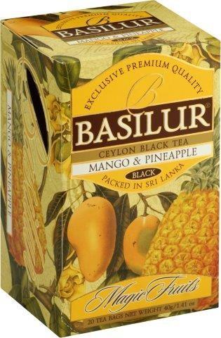 Basilur Tea Magic Fruits Mango & Pineapple (20 Beutel)