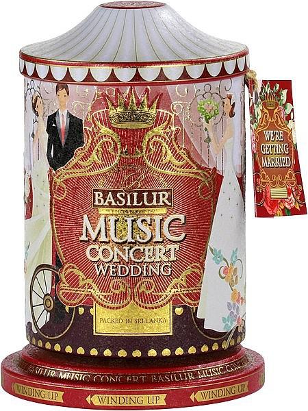 Basilur Tea Music Concert Wedding (Blechdose)