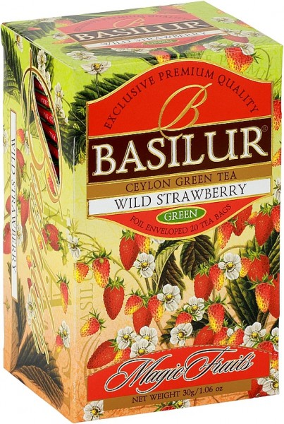 Basilur Tea Magic Fruits Wild Strawberry (20 Beutel)