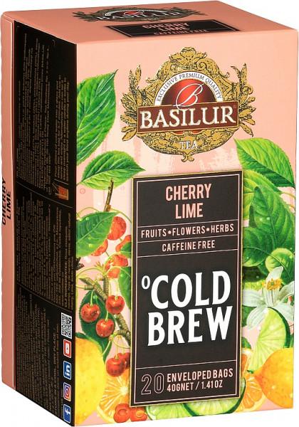 Basilur Tea Cold Brew Cherry Lime Abdeckung 20x2g