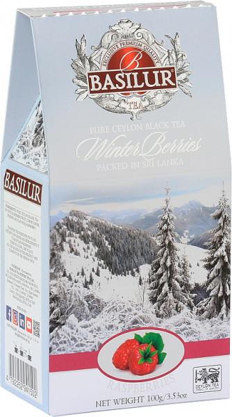 Basilur Tea Winterbeeren Himbeeren im Karton