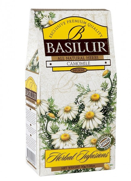 Basilur Tea Herbal Infusions Camomile (Karton)