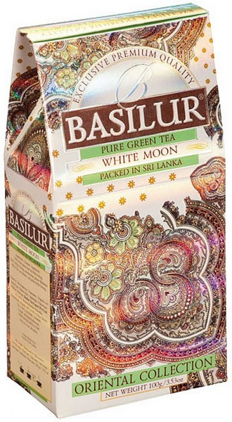 Basilur Tea White Moon (Karton)