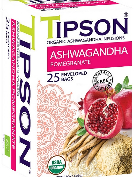 Tipson Tea BIO Ashwagandha Granatapfel