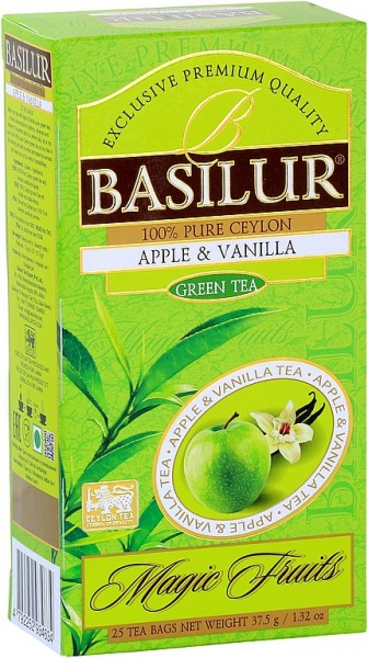 Basilur Tea Magic Fruits Apple & Vanilla (25 Beutel)