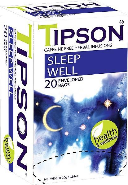 Tipson Tea Sleep Well (20 Beutel)