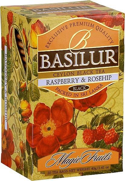 Basilur Tea Magic Fruits Raspberry & Rosehip (20 Beutel)