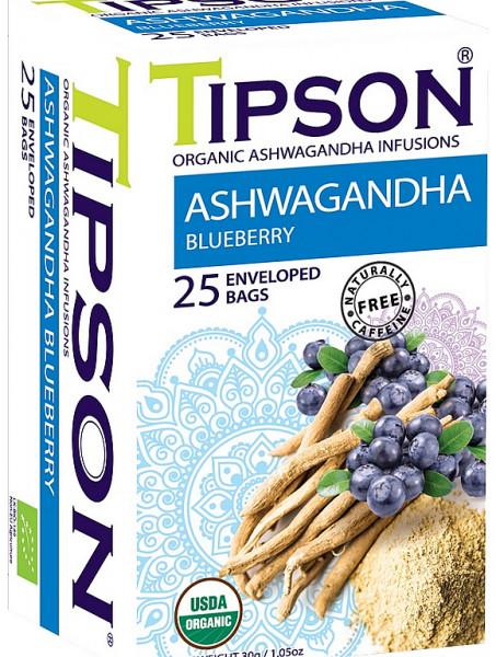 Tipson Tea BIO Ashwagandha Blueberry