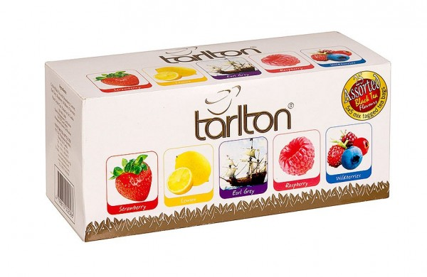 Tarlton Tea Variation von schwarzen Teesorten, 25 Stück