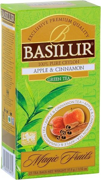 Basilur Tea Magic Fruits Apple Cinnamon (25 Beutel)