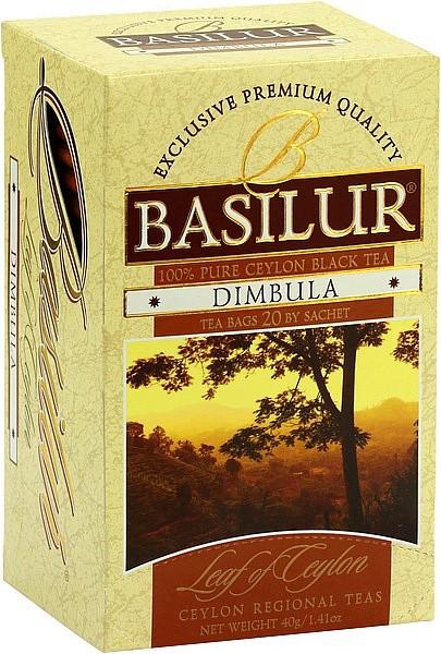 Basilur Tea Leaf of Ceylon – Dimbula (20 Beutel)