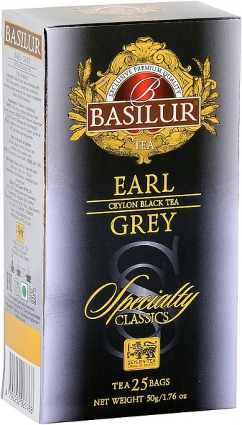 Basilur Tea Specialty Earl Grey (25 Beutel)