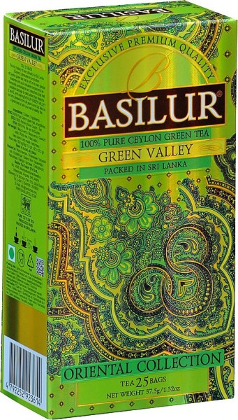 Basilur Tea Oriental Collection – Green Valley (25 Beutel)
