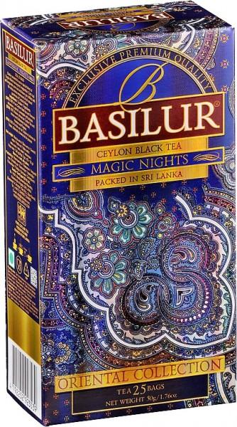 Basilur Tea Oriental Collection Magic Nights (25 Beutel)
