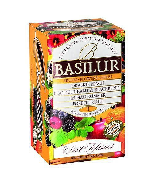 Basilur Tea Fruit Infusions – Fruits Flowers Herbs 1 (20 Beutel)