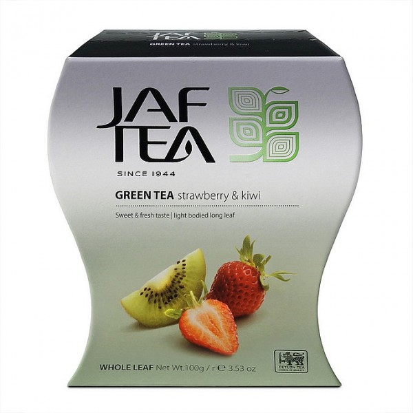 Jaf Tea Strawberry & Kiwi grüner loser Tee