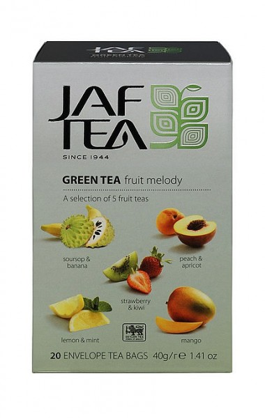 Jaf Tea Variation Fruit Melody, 20 Folienbeutel 5 x 4 x 2 g