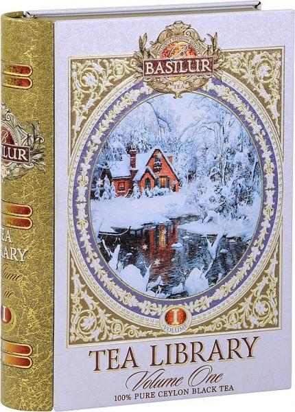 Basilur Tea Library I. Whiteschwarzer loser Tee