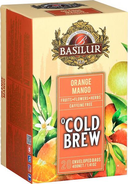 Basilur Tea Cold Brew Orange Mango Abdeckung 20x2g
