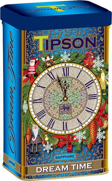 Tipson Tea Dream Time Sapphire schwarzer loser Tee