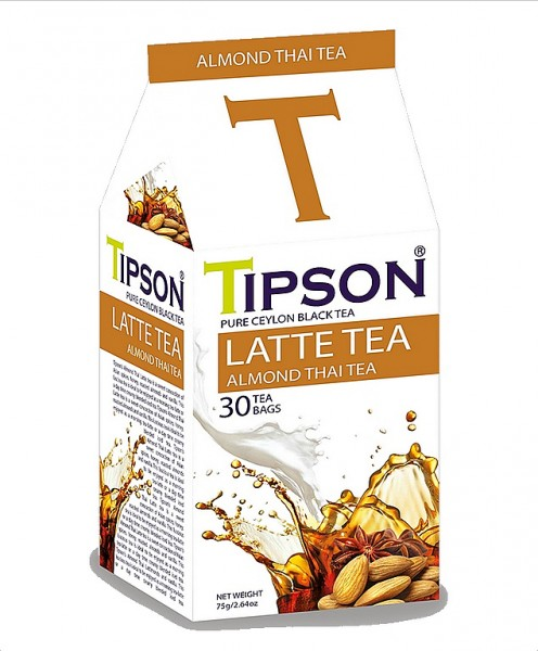 Tipson Tea Latte Tea Almond Thai Tea