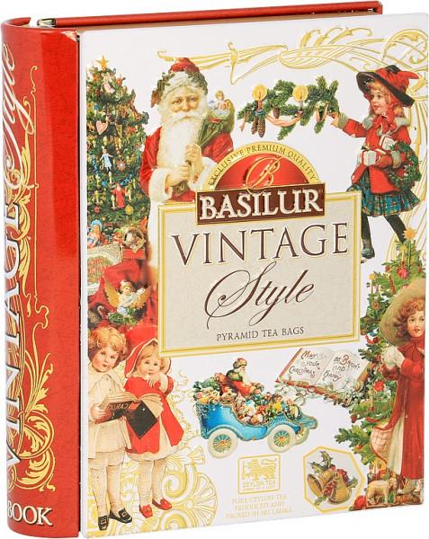 Basilur Tea Vintage Style Pyramid Tea Bags