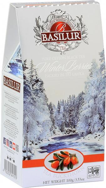 Basilur Tea Winterbeeren Sanddorn im Karton