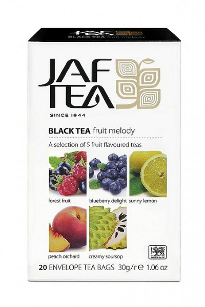 Jaf Tea Variation Fruit Melody, 20 Folienbeutel 4 x 5 x 1,5 g