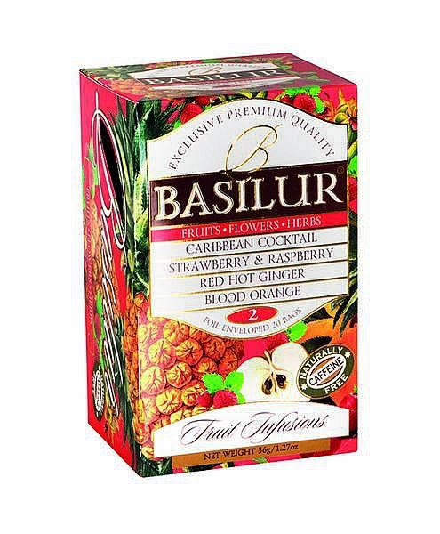 Basilur Tea Fruit Infusions – Fruits Flowers Herbs 2 (20 Beutel)
