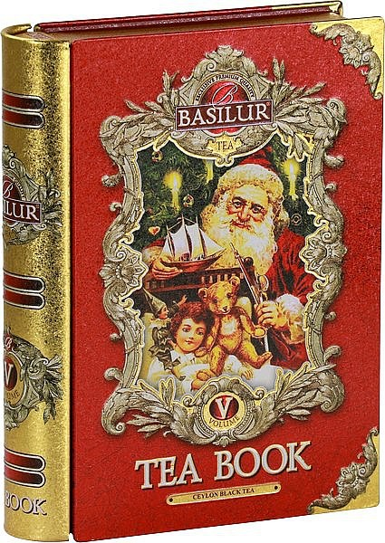 Basilur Tea Book Vol. V. (Red)schwarzer loser Tee