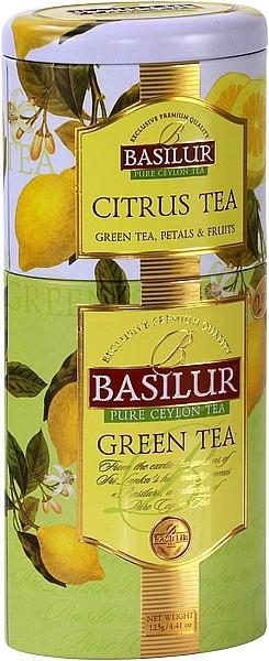 Basilur Tea Green Tea Citrus Tea (Blechdose)