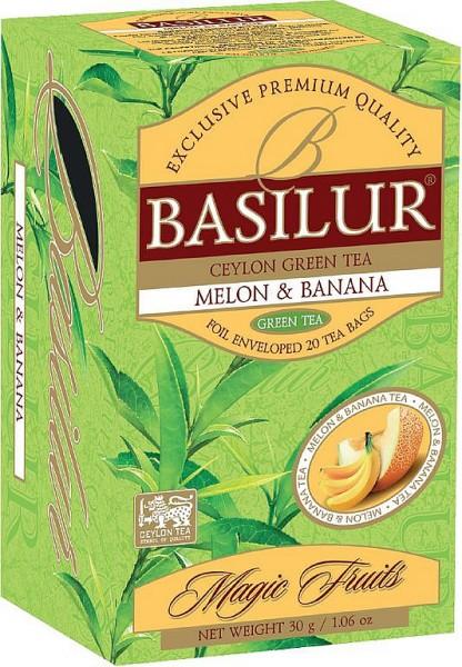 Basilur Tea Fruit Infusions Melon & Banana (20 Beutel)