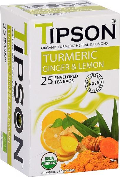 Tipson Tea Turmeric Ginger & Lemon (25 Beutel)