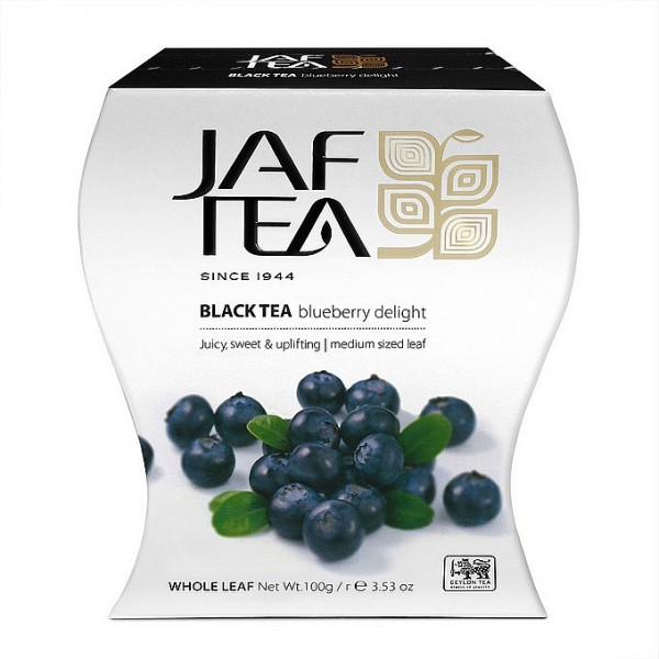 Jaf Tea Blueberry Delight schwarzer loser Tee