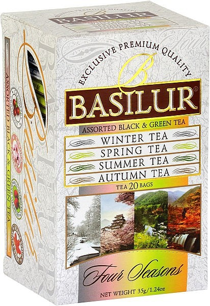 Basilur Tea Four Seasons (20 Beutel)