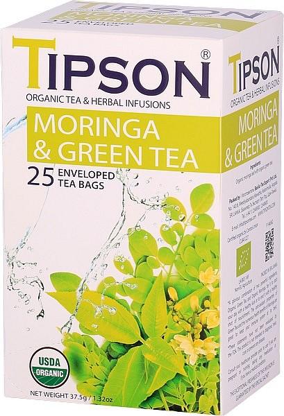 Tipson Tea Morning & Green Tea (25 Beutel)