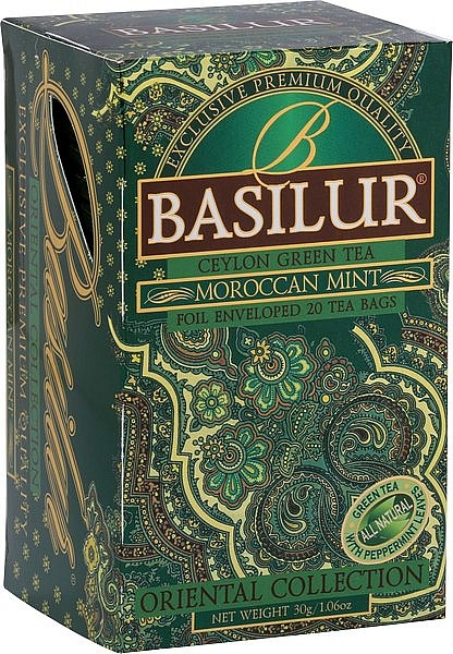 Basilur Tea Oriental Collection Moroccan Mint (20 Beutel)