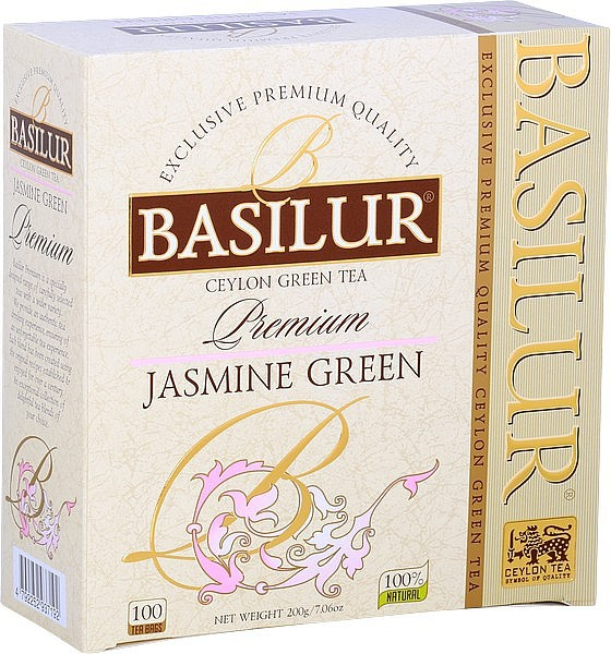 Basilur Tea Premium – Jasmine Green (Karton)