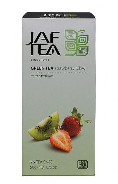 Jaf Tea Green Strawberry & Kiwi hat 25x2g