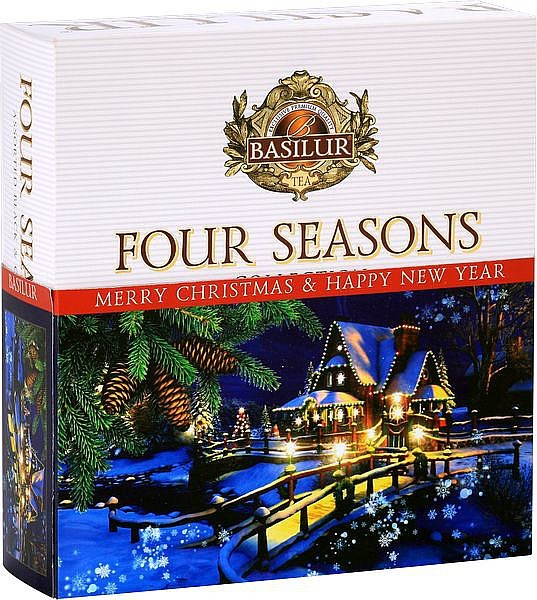 Basilur Tea Four Seasons Merry Christmas & Happy new Year (40 Beutel)