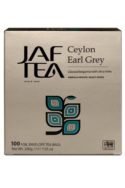 Jaf Tea Ceylon Earl Grey (100 Beutel)